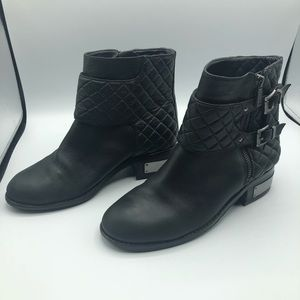 Vince Camuto ankle biker booties size 7.5